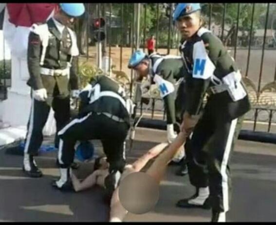 Heboh! Pria Telanjang Menyusup Masuk ke Istana Negara Sambil Teriak Kepengen Kawin