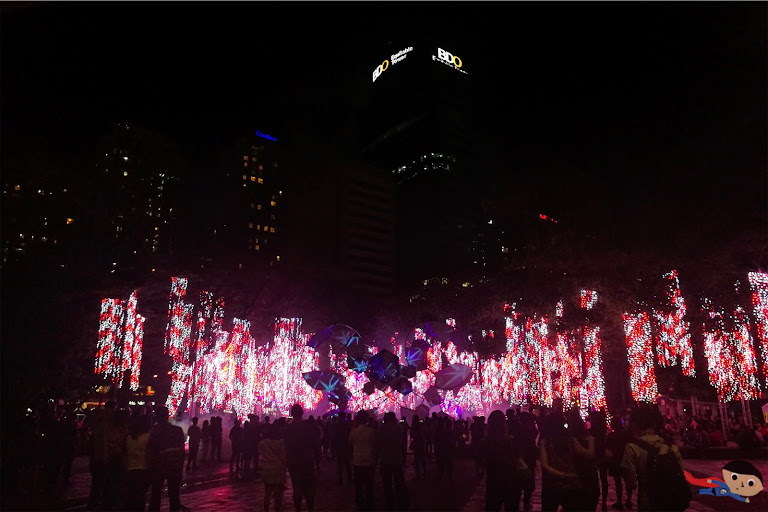 Christmas Lights and Sounds in Ayala Triangle Gardens