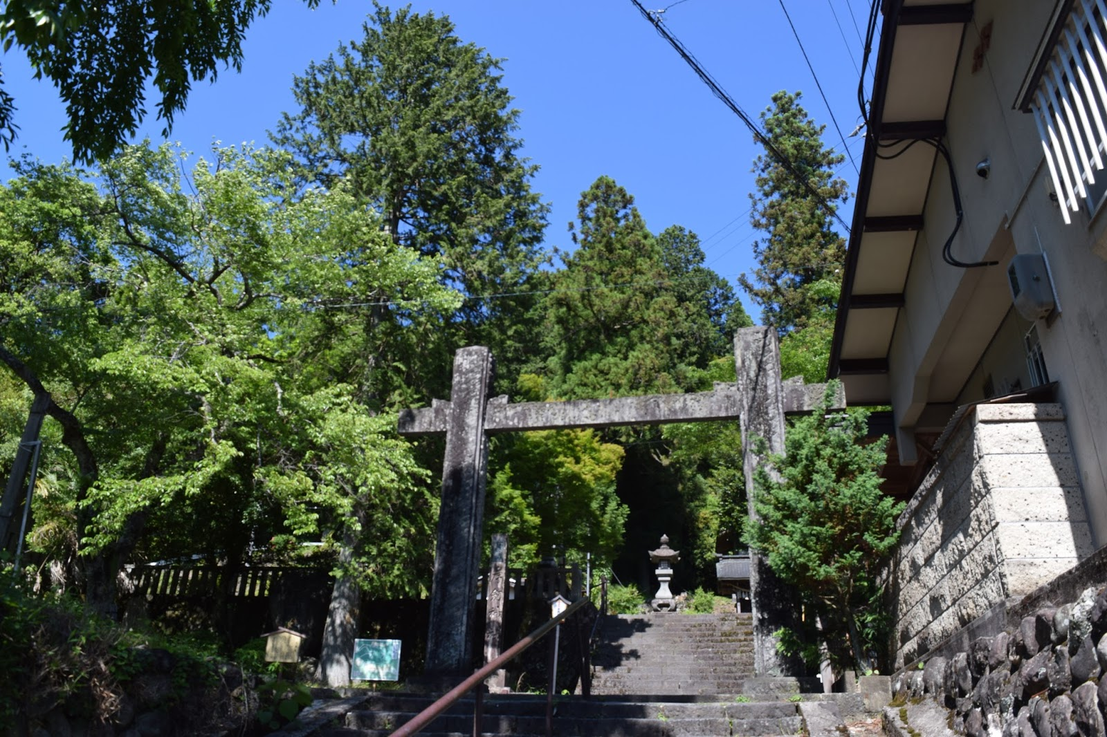 Japanese shrine Nagano prefecture