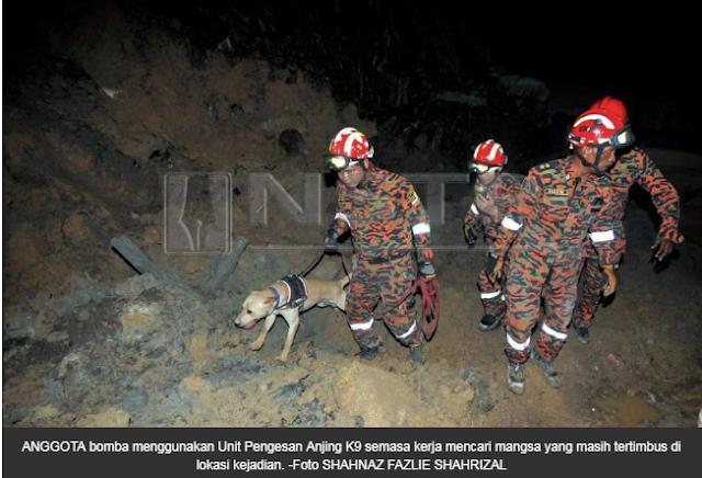 Identiti mangsa runtuhan dikenal pasti