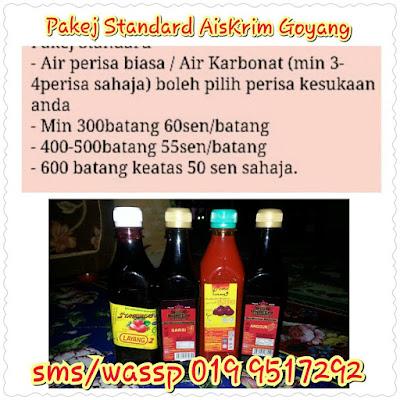 Pakej Standard AISKRIM GOYANG