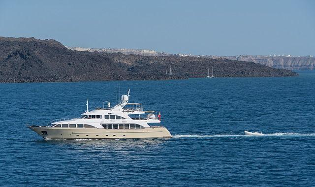 Travel Yacht Europe Island Santorini Greece Water, Best Vacation Spots For Couples