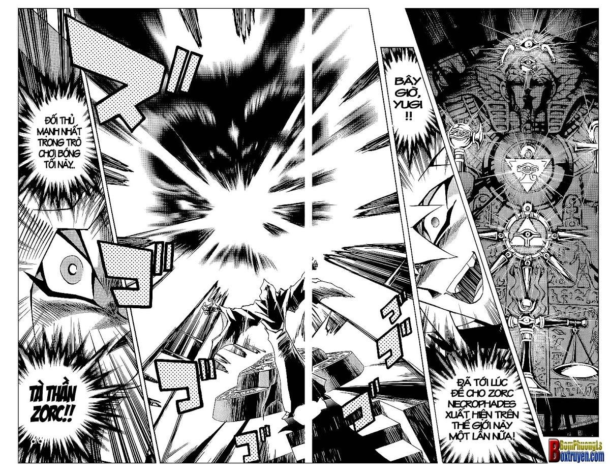 YUGI-OH! chap 320 - trò chơi bóng tối cuối cùng trang 18