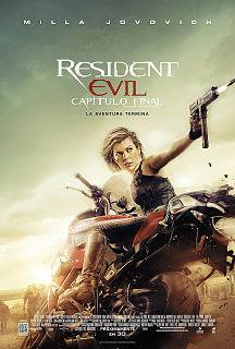 Cartel: Resident Evil: El capítulo final (2016)