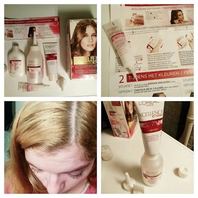 L'Oréal Paris Excellence Crème 7 Middenblond Drievoudig Verzorgende Crèmekleuring REVIEW