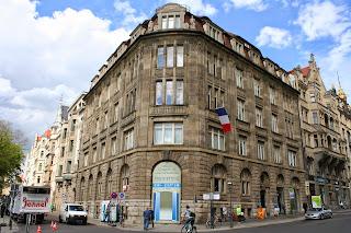 Das ehemalige Bankhaus Meyer & Co. im Thomaskirchhof