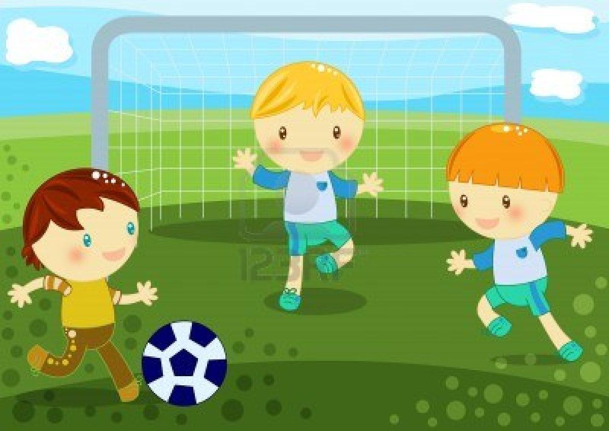 Imagenes Ninos Jugando Futbol
