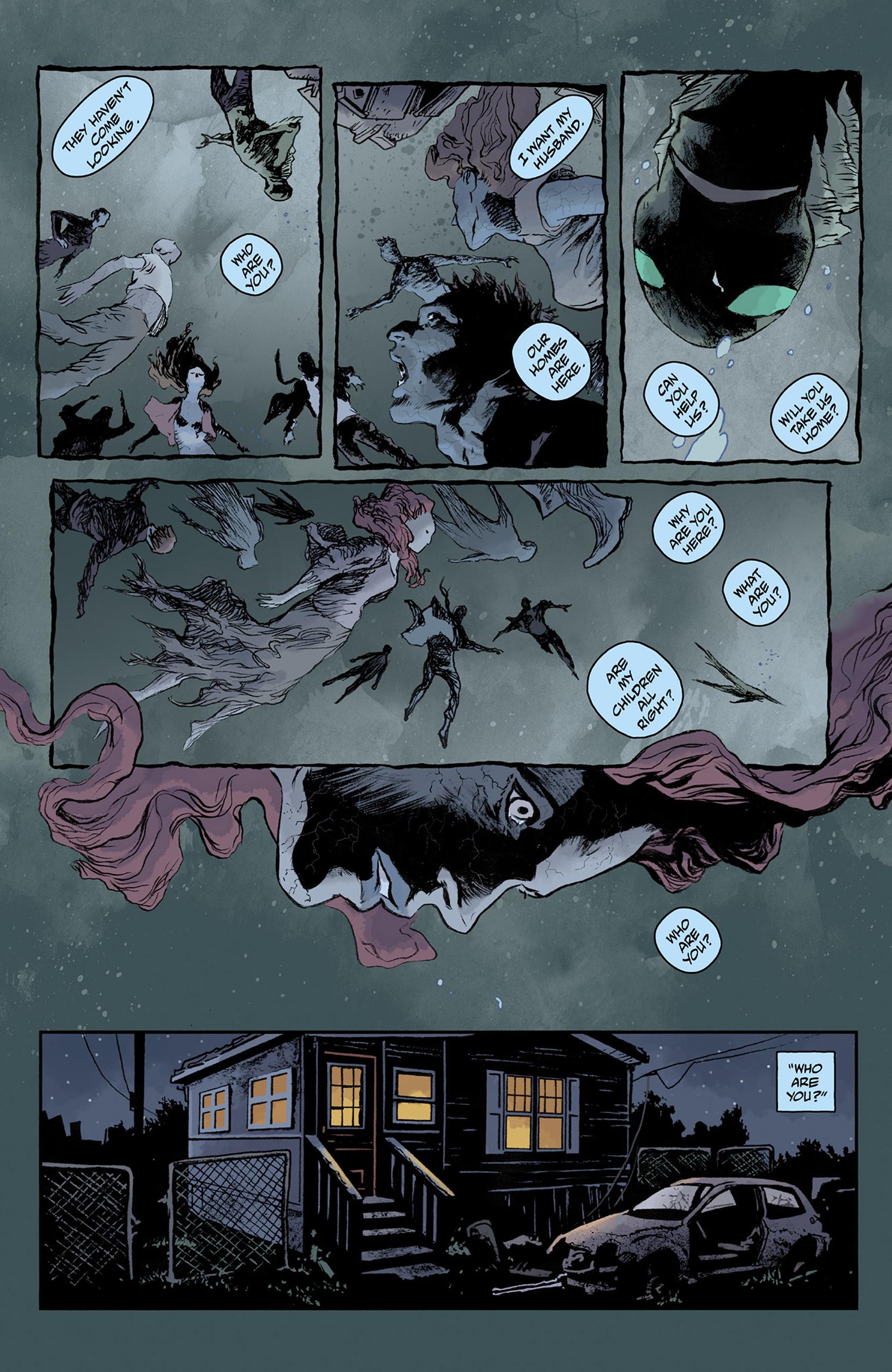 Read online Abe Sapien comic -  Issue #24 - 22