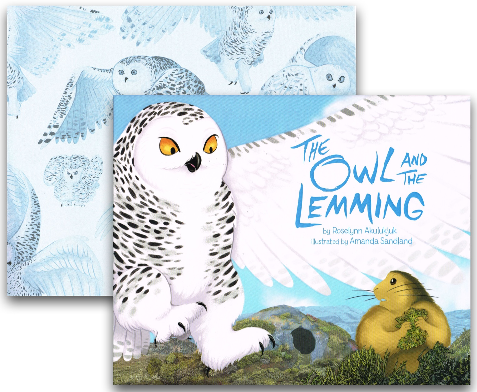 CanLit for LittleCanadians: The Owl and the Lemming