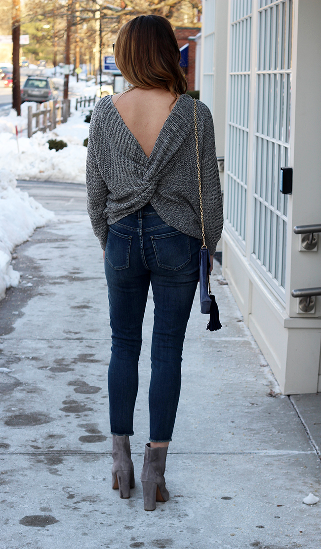 Stitch Fix Knot Back Sweater
