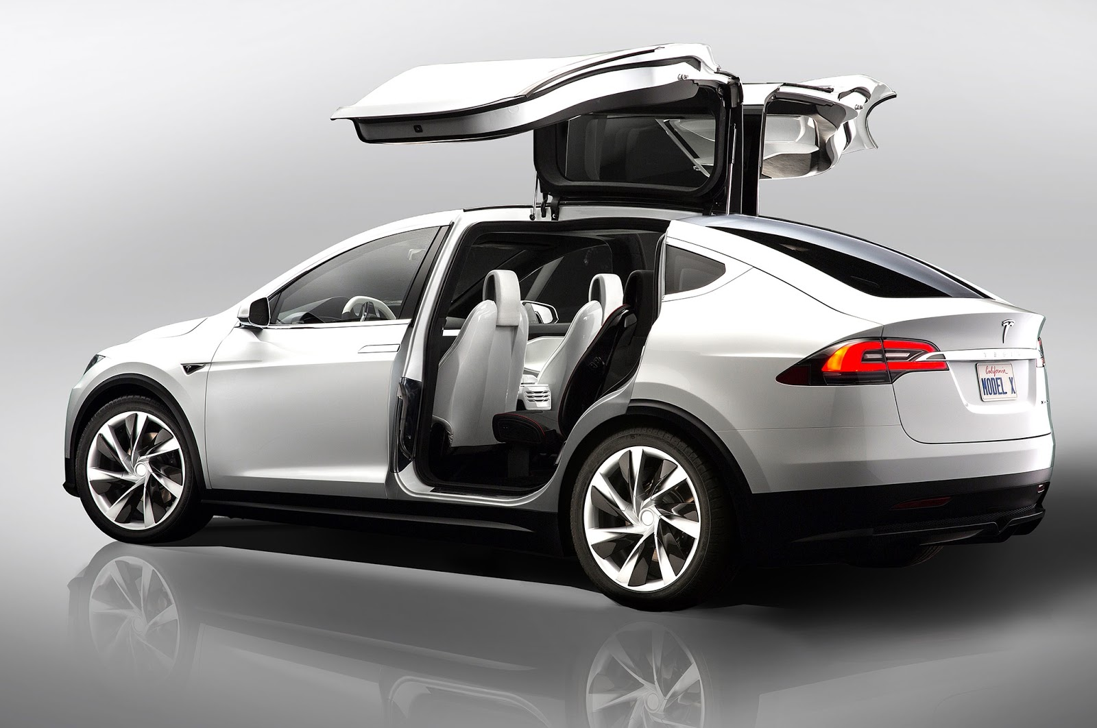 I Read An Article The Other Day By Financial Yst James Sanford That Claimed Falcon Wing Doors On Model X Those Open Upwards Instead