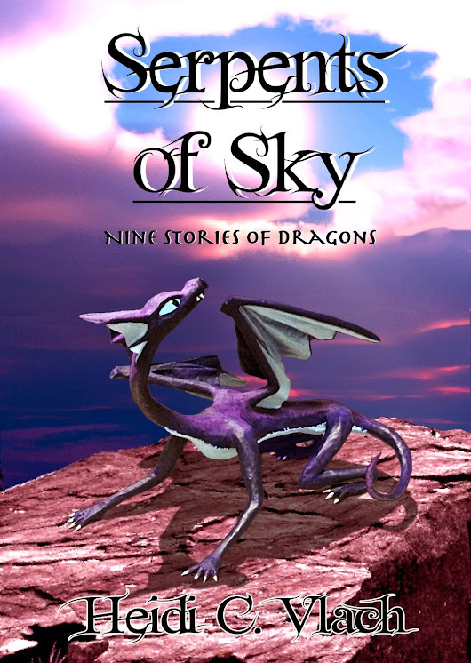Book Review: Serpents of Sky: Nine Stories of Dragons by Heidi C. Vlach