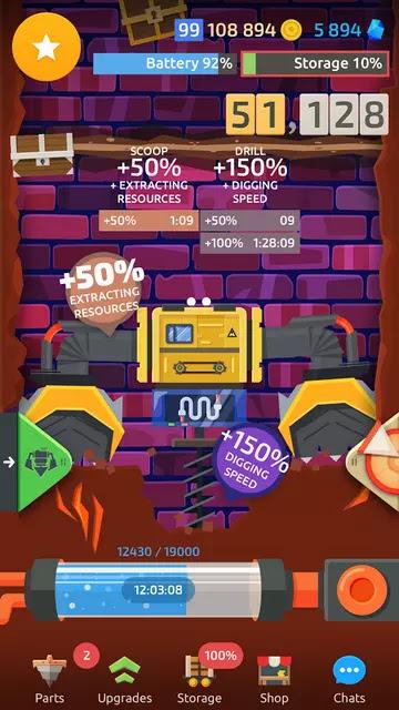Drilla crafting game Hack Apk