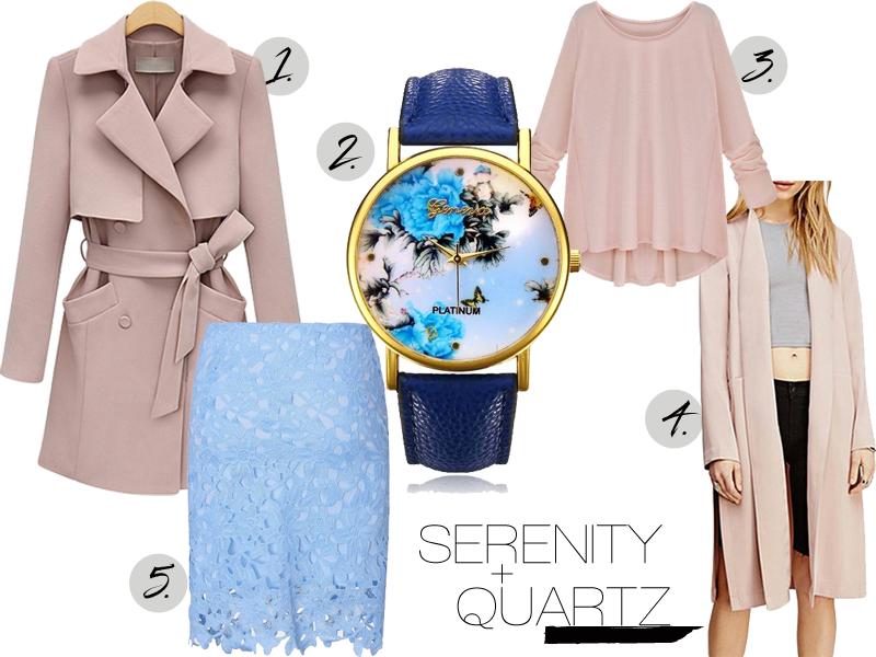 pantone serenity and quartz