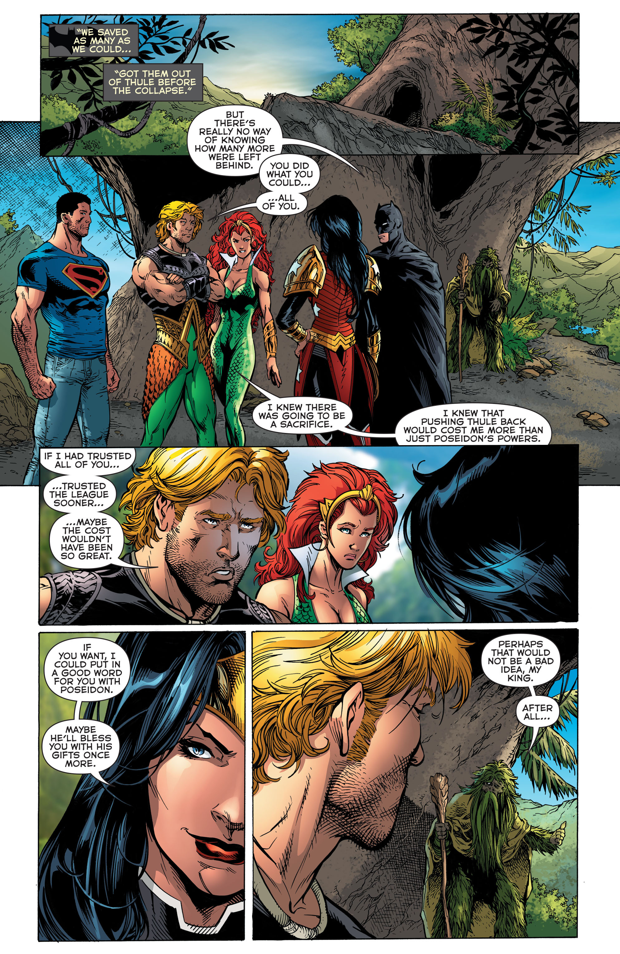 Read online Aquaman (2011) comic -  Issue #48 - 20