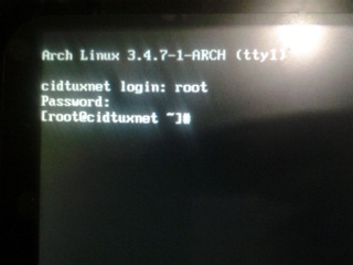 How to install Archlinux Net Install