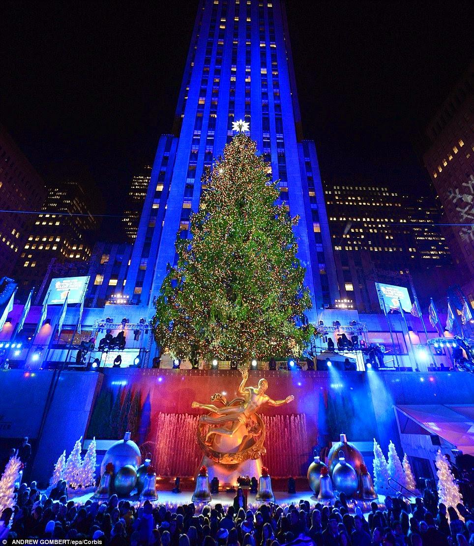 Rockefeller Christmas Tree Lighting 2014: The Black Conservative: Stephen L. Carter ― How Christmas