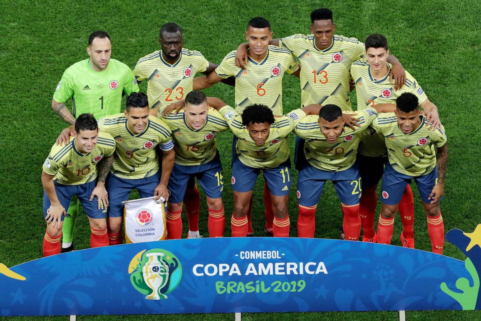 Formación de Colombia ante Chile, Copa América 2019, 28 de junio