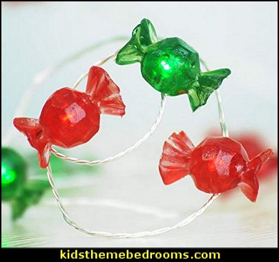 Candy Shape string lights  candy Christmas theme decorating - candy themed christmas decorations - christmas candyland decorations -  candy ornaments -  candy shaped holiday ornaments - candy themed Christmas decor -   lollipop candy swirls Throw Pillows - candy stripe Chritmas decor