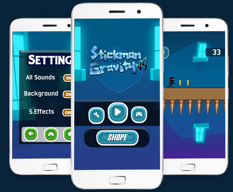 Stickman vs Gravity - Buildbox project + Android studio+Admob - 4