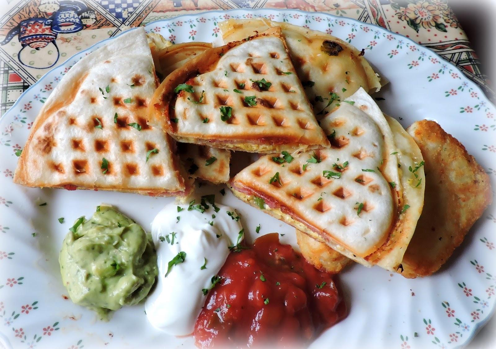 Image result for Waffle Maker Quesadilla