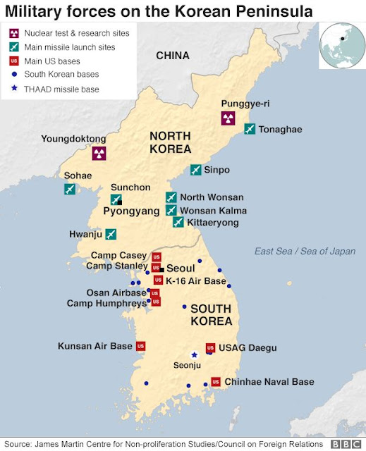 us army bases in korea map This U S Base In South Korea Will Be Key In Any Possible Korea War