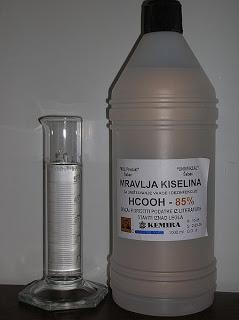 Mυρμηκικό οξύ, για την καταπολέμηση της varroa