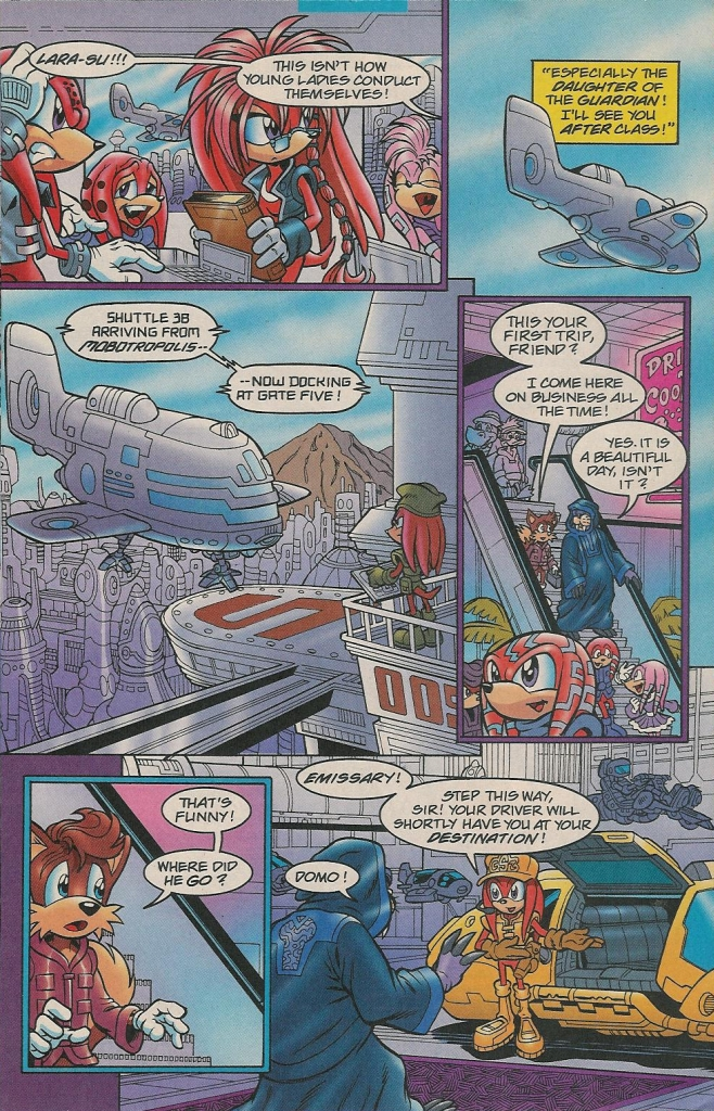 Read online Sonic The Hedgehog comic -  Issue #131 - 20