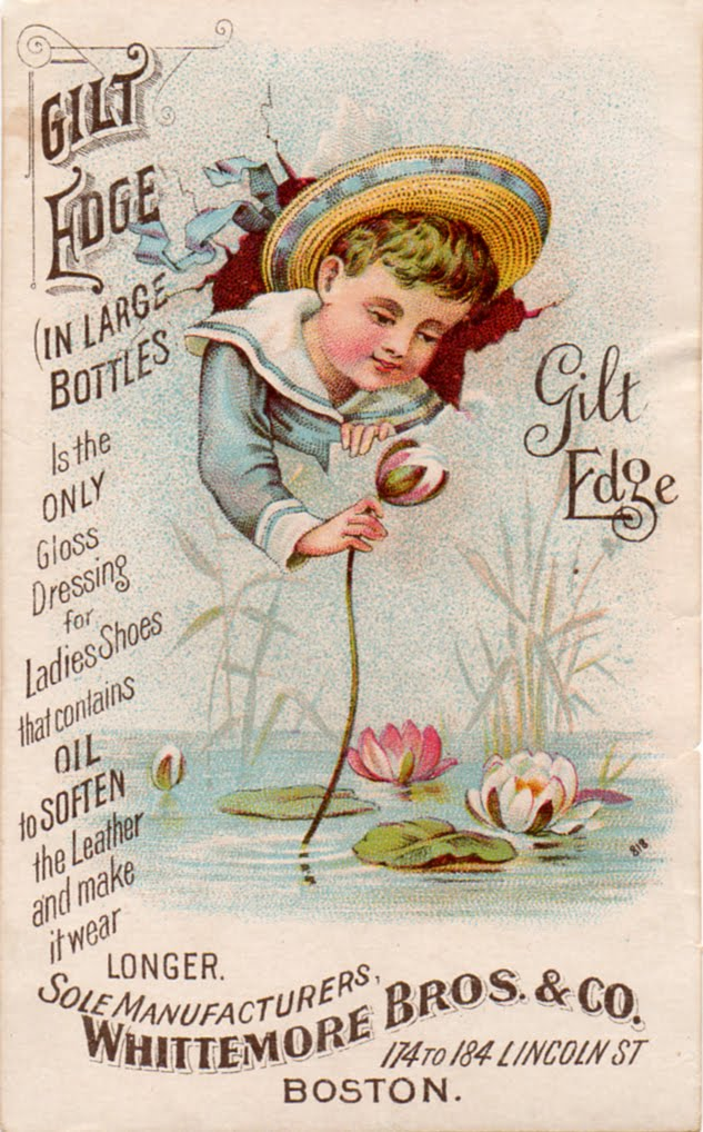 The Vintage Moth..: Antique Advertising Card