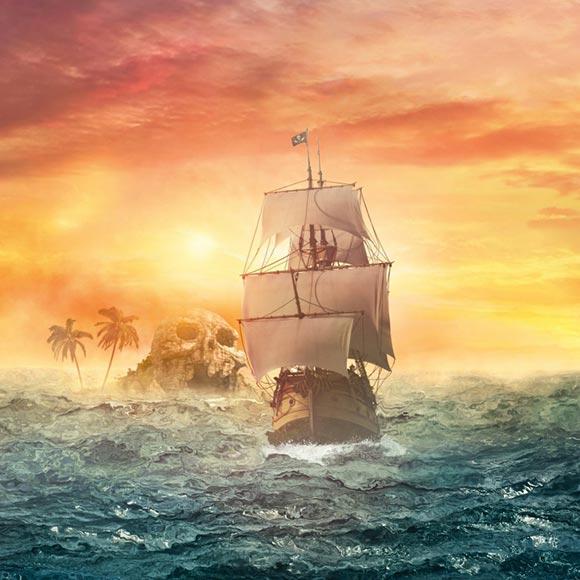 Pirate Ship Wallpaper Engine