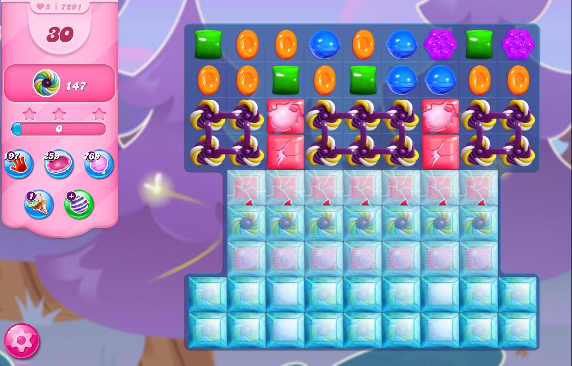 Candy Crush Saga level 7291