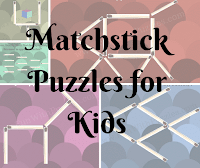 Matchstick Puzzles for kids with solutions