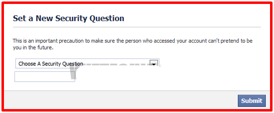 Unlock Facebook Account