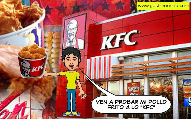 Pollo frito estilo KFC - Kentucky Fried Chicken a lo Seoveinte