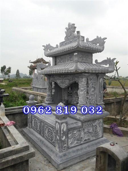 Sản phẩm cần bán: Kích thước xây móng mộ đá đôi đẹp cho ông bà cha mẹ Mo-da-hai-mai-dep