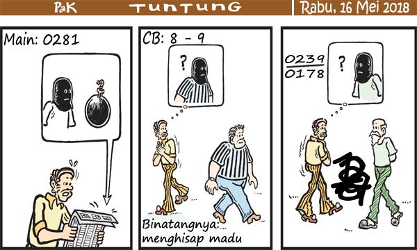 Prediksi Gambar Kode Syair Pak Tuntung Rabu 16 05 2018