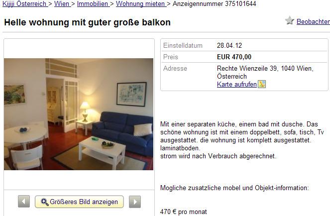 Wohnungsbetrug.blogspot.com: Helle Wohnung Mit Guter Große