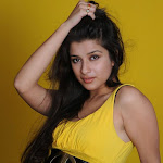 Madhurima Tollywood Actress Cute In yellow Dress Stills