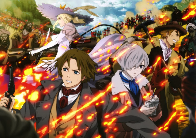 The empire of corpses Shisha no Teikoku Hadaly Lilith Friday Frederick Barnaby John H Watson wallpaper hd
