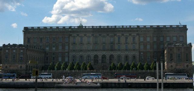 El Palacio Real de Estocolmo