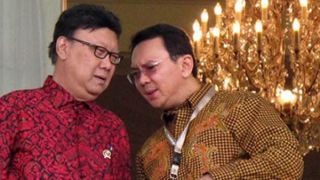 Kalah Pilkada DKI, Ahok Incar Kursi Menteri Dalam Negeri