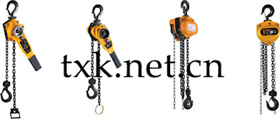 hand chain hoist and lever hoist