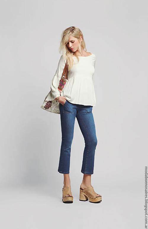 Blusas verano 2017 ropa de moda mujer. Moda 2017.