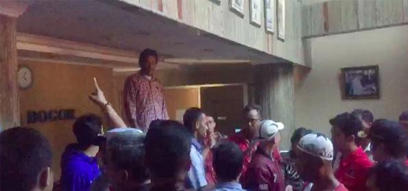 Kader PDIP Geruduk Radar Bogor, Prabowo: Massa PDIP ini Masuk Kelompok Radikal Kanan atau Kiri?