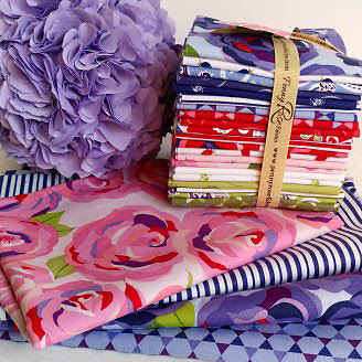 Coming up Roses fabric bundle
