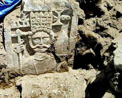 Christian stone carving unearthed in Yemen