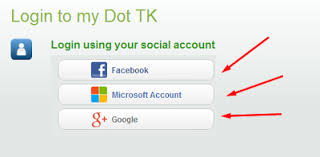 login to .tk