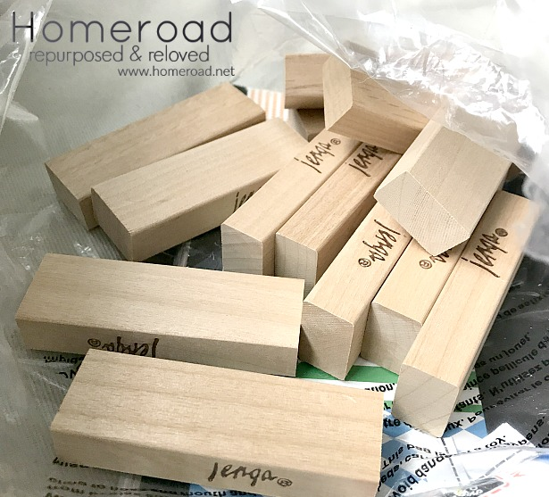 DIY projects using Jenga game