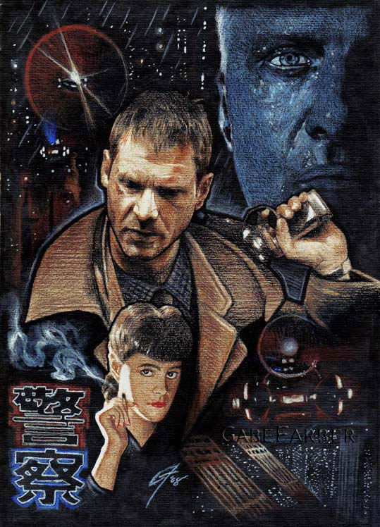 America S Best Blogger Blade Runner Fan Art