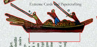 detail of boat for Venice pop up